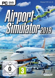 Carátula de Airport Simulator 2019 - PC