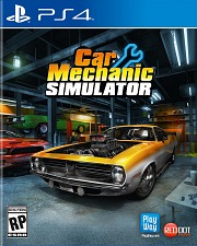 Carátula de Car Mechanic Simulator - PS4