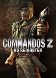 Carátula de Commandos 2 HD Remaster - PS4