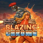 Carátula de Blazing Chrome - PS4