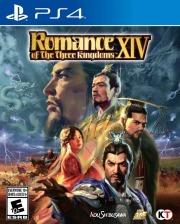 Carátula de Romance of the Three Kingdoms XIV - PS4