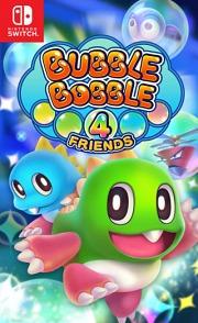 Carátula de Bubble Bobble 4 Friends - Nintendo Switch