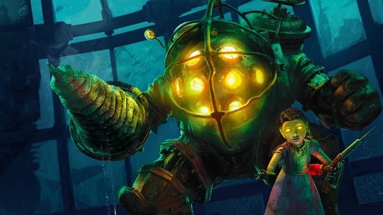 Ilustración de la saga BioShock