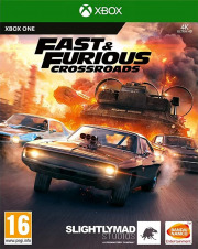 Carátula de Fast & Furious Crossroads - Xbox One
