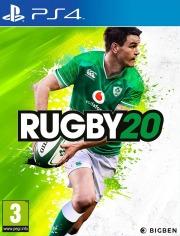 Carátula de Rugby 20 - PS4