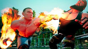 WWE 2K Battlegrounds, el wrestling más desenfadado de 2K