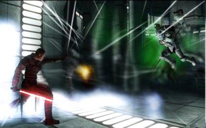 Star Wars El Poder de la Fuerza Wii