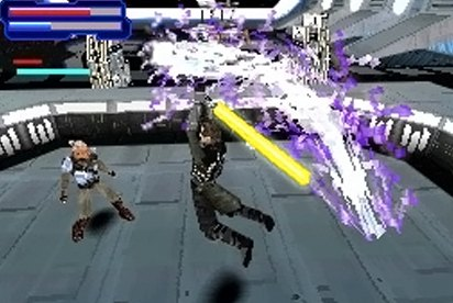 Star Wars El Poder de la Fuerza DS