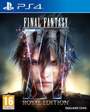 Carátula de Final Fantasy XV - PS4