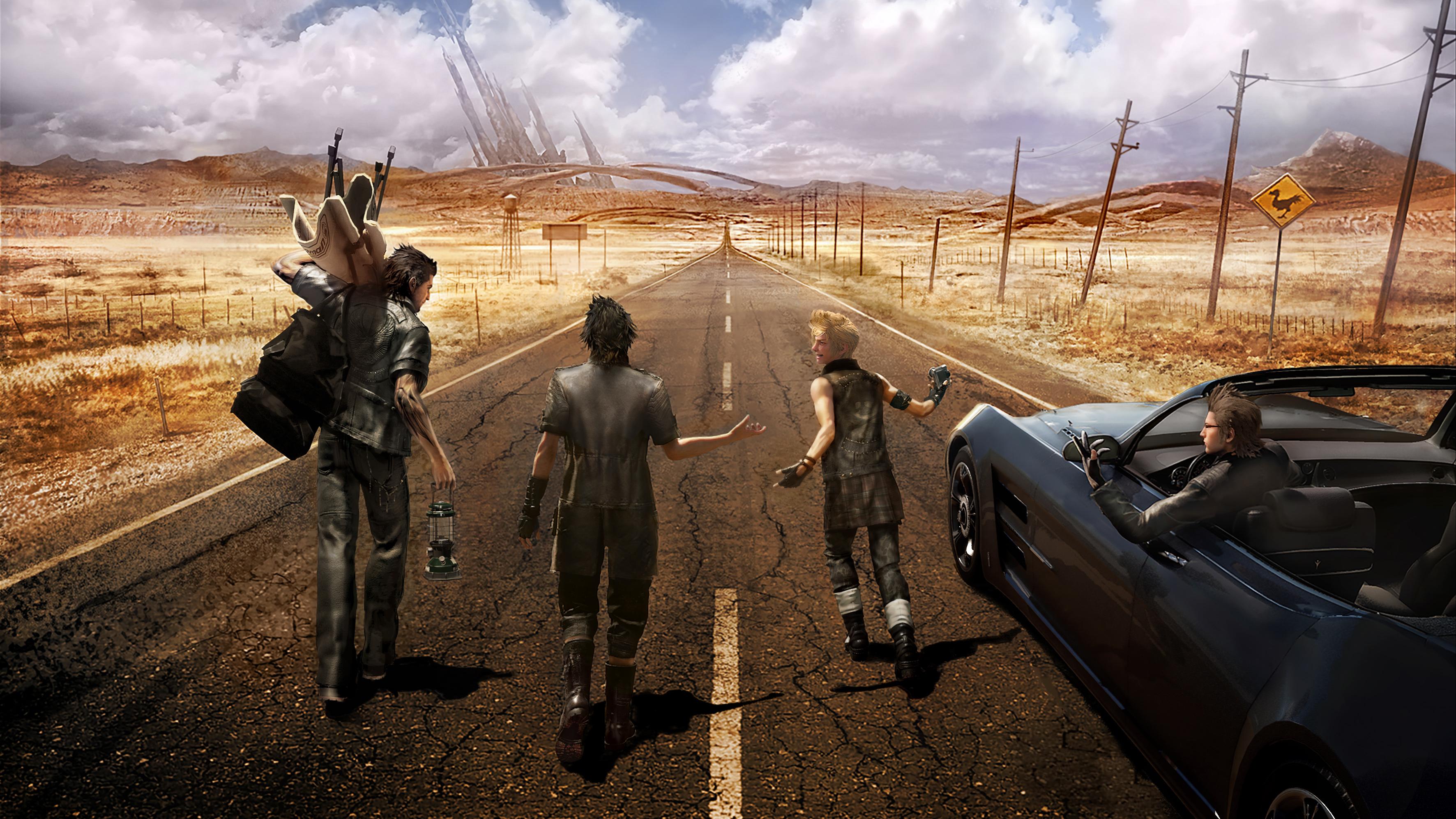 Final Fantasy Xv Recibirá Al Menos Tres Nuevos Episodios