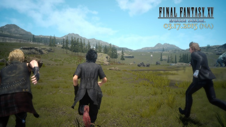 Noctis y compañía corriendo a casa al enterarse que mañana suben Final Fantasy XV al Xbox Game Pass.