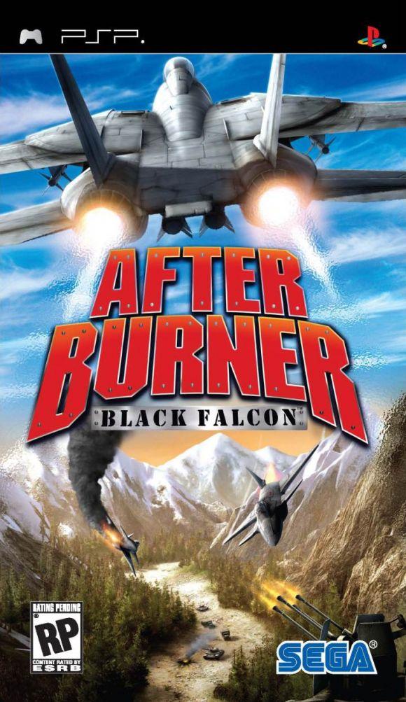 Carátula de After Burner: Black Falcon