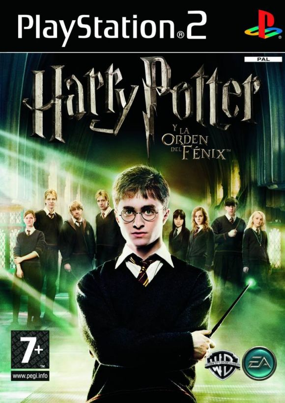Harry Potter Y La Orden Del Fenix Para Ps2 3djuegos