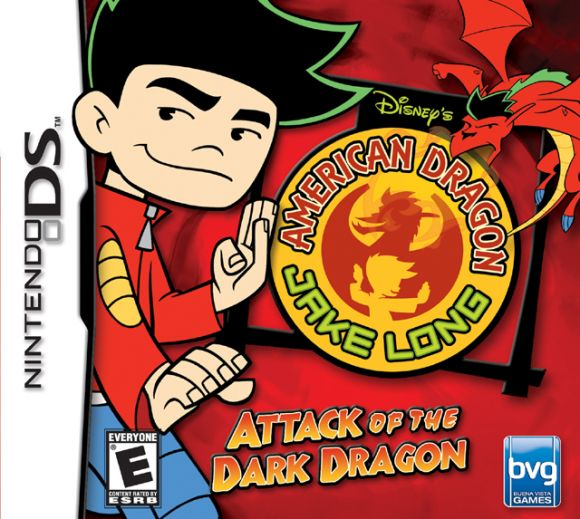 Car�tula de American Dragon: Jake Long