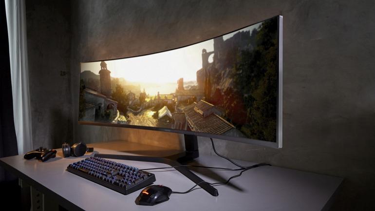 Samsung muestra un monitor 5120x1440 completo con FreeSync 2 HDR