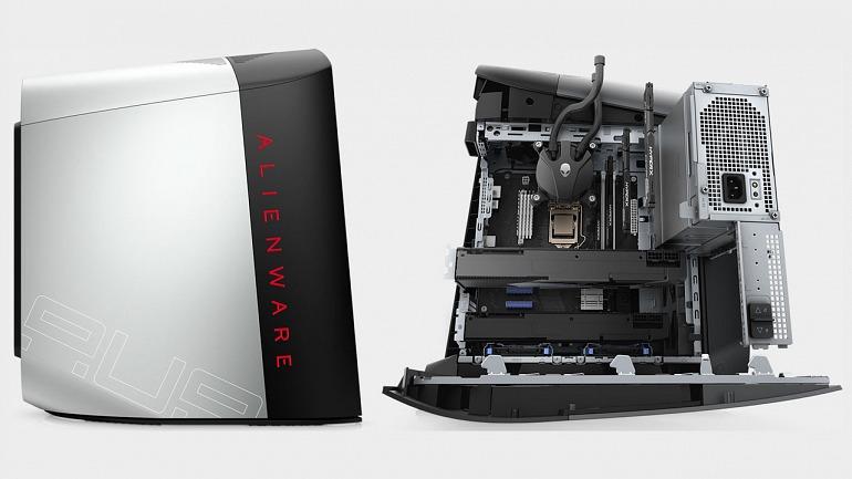 Alienware rediseña su PC Aurora y ahora parece alienígena de verdad