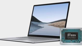 Lo que va dentro del Surface Laptop 3 es un Ryzen personalizado