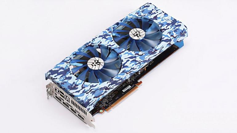 HIS le da la nota de color a la tarjeta gráfica RX 5700 XT ¡con versiones azul y rosa!
