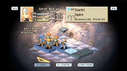 FF Tactics War of Lions PSP