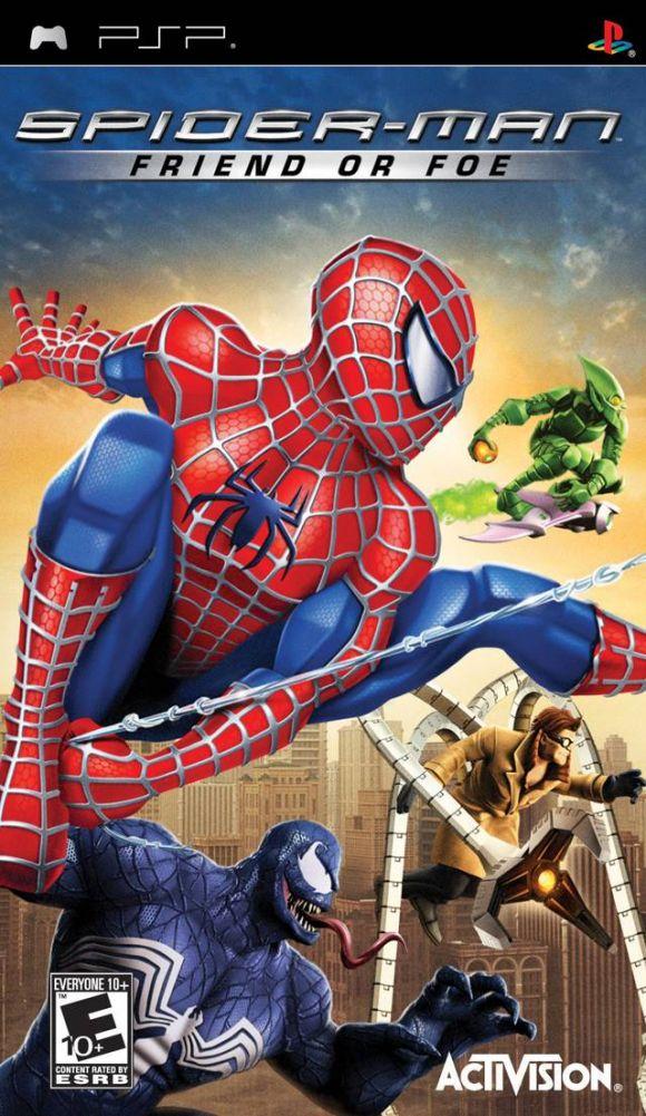 Spiderman friend or foe para psp 3djuegos - Jeux de spiderman 7 ...