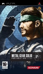 Carátula de Metal Gear Solid Portable Ops Plus - PSP
