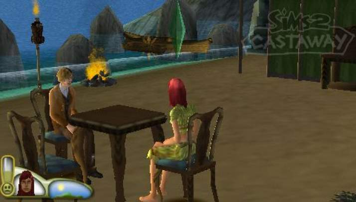 les sims 2 naufrags psp