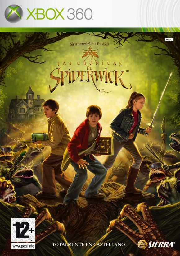 Las Cronicas De Spiderwick Para Xbox 360 3djuegos