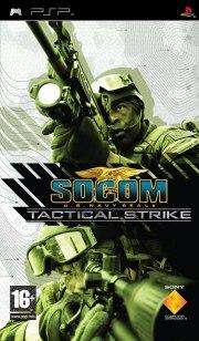 Carátula de SOCOM: Tactical Strike - PSP