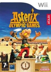 Carátula de Asterix y los Juegos Olímpicos - Wii