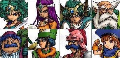 Dragon Quest: Capítulos de los Elegidos, en septiembre para DS