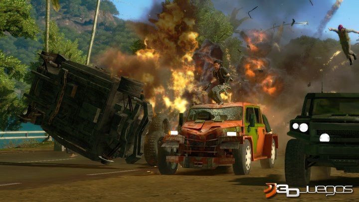 Just Cause 2 - Impresiones jugables