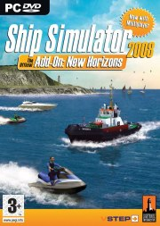 Carátula de Ship Simulator 2008: New Horizons - PC
