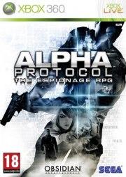 Carátula de Alpha Protocol - Xbox 360