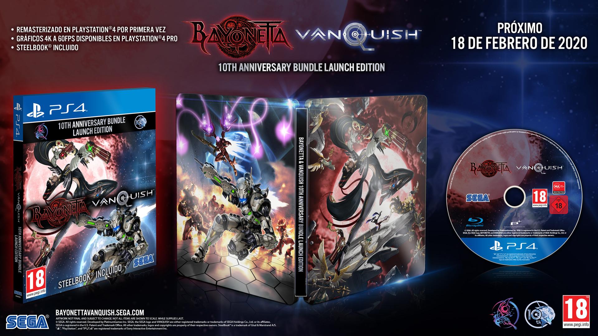 Confirman remasterizaciones de Bayonetta y Vanquish; conoce su fecha de estreno