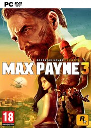 Car�tula oficial de Max Payne 3 PC