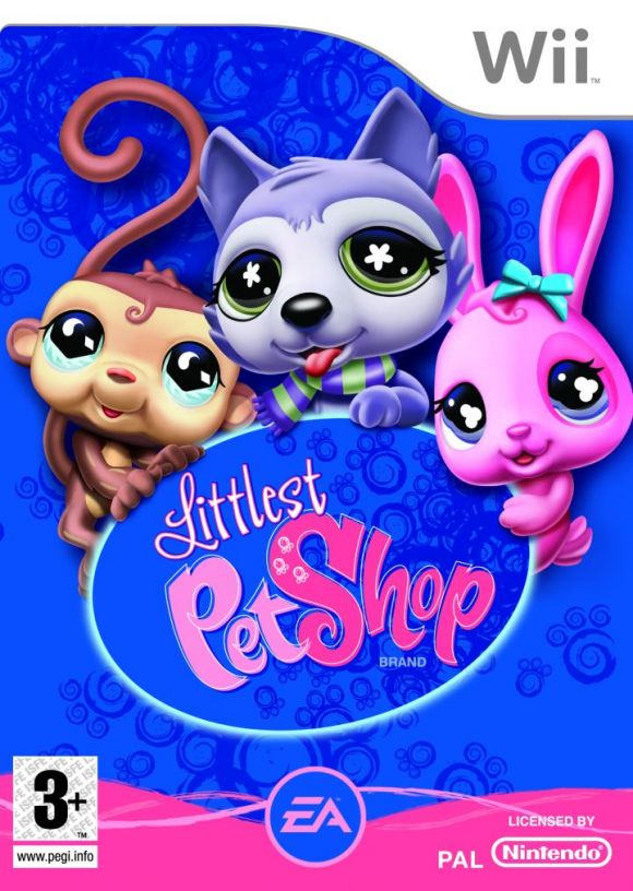 Car tula oficial de littlest pet shop wii 3djuegos for Shop homepage