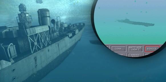 Con cámara exterior, vista de los instrumentos, periscopio e incluso la posibilidad de salir al puente a otear el horizonte, Das Boot: German U-Boat Simulation de 1990 fue un digno predecesor de las series Silent Hunter.