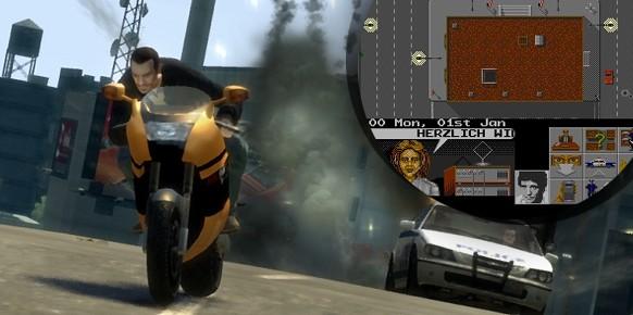 Los paralelismos entre el primer GTA y Hill Street Blues The Videogame son tremendamente obvios. Vista cenital, libertad de acción, vehículos…  Con las nuevas entregas de Rockstar no se ha cambiado gran cosa sobre la base a parte del diseño 3D.
