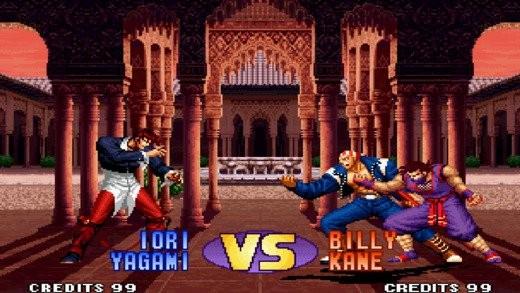 Iori rompió, violentamente, con Billy y Eiji en 1995. En 1998, Billy, intentaría cobrarse la revancha.