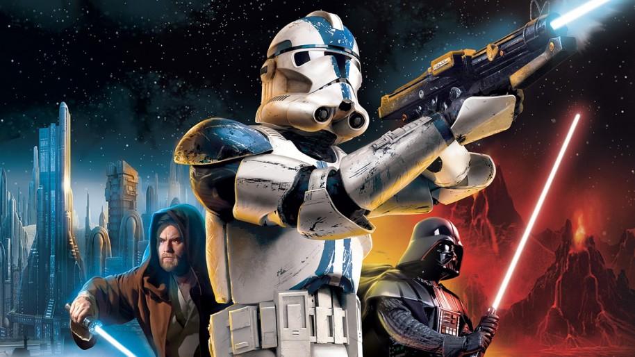 Imagen de Star Wars Battlefront 2 (2005).