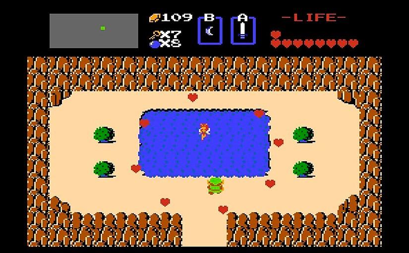 The Legend of Zelda se distinguió por un enfoque menos lineal que la mayoría de juegos de la época. Fue bastante rompedor.