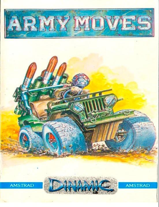 La carátula de Army Moves, un juego cuya inspiración surgió de los explosivos juegos de infancia de los Ruiz.