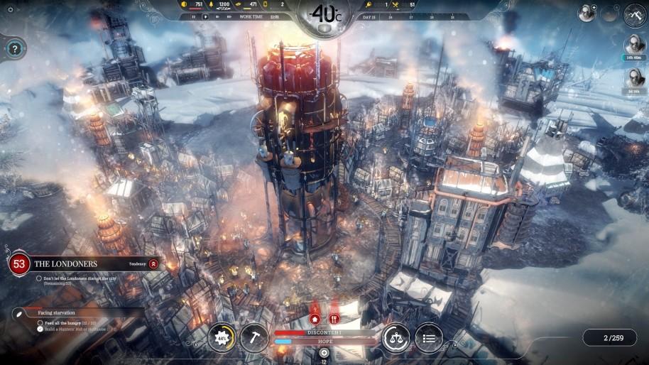 Frostpunk es el último juego de los autores de This War of Mine.