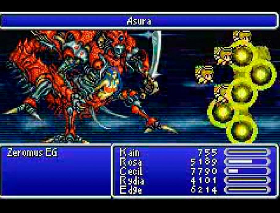 Final Fantasy IV (WonderSwan)