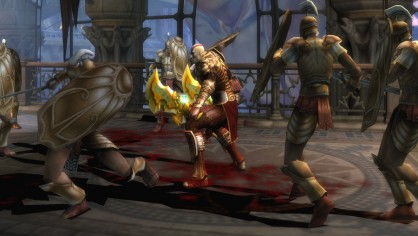 God of War, God of War 2: Divine Retribution (en la imagen), God of War: Chains of Olympus, God of War 3� El idilio de Kratos con el logo PlayStation lo convierten en una de sus mejores imágenes de marca de sus consolas.