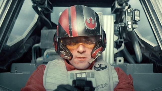 Poe Dameron (Oscar Isaac) - Star Wars: El Despertar de la Fuerza