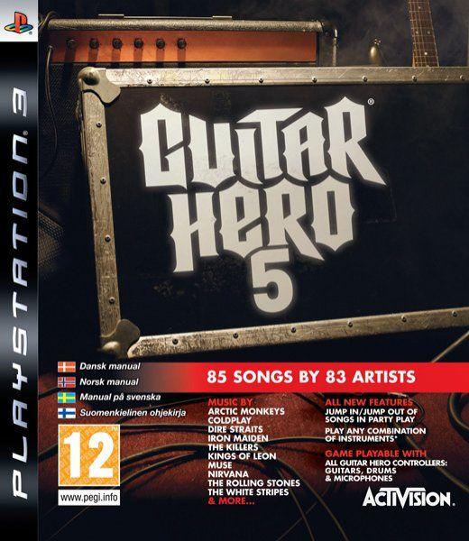guitar hero 5 para ps3 3djuegos. Black Bedroom Furniture Sets. Home Design Ideas