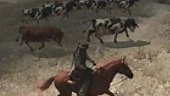 Video Red Dead Redemption - Gameplay: Llevando el Ganado a Pastar