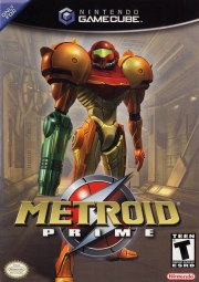 Carátula de Metroid Prime - GC