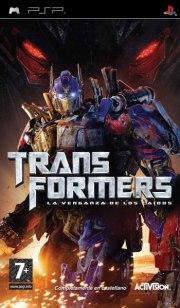 Carátula de Transformers: La venganza - PSP
